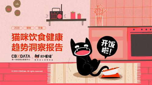 CBNData联合红嘴猫发布《猫咪饮食健康趋势洞察报告》