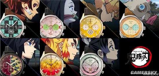 TiCTAC《鬼灭之刃》多款手表将开售 人民币1270元