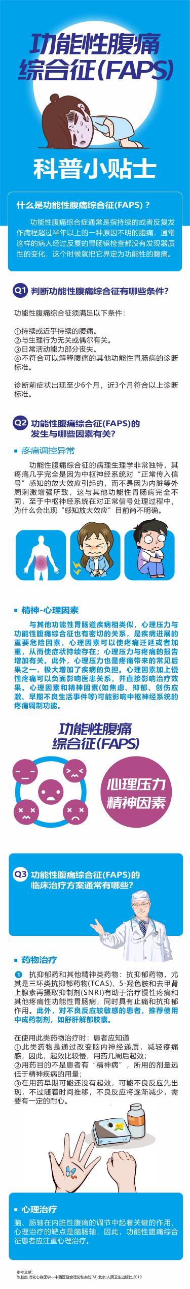 功能性腹痛综合征(FAPS)
