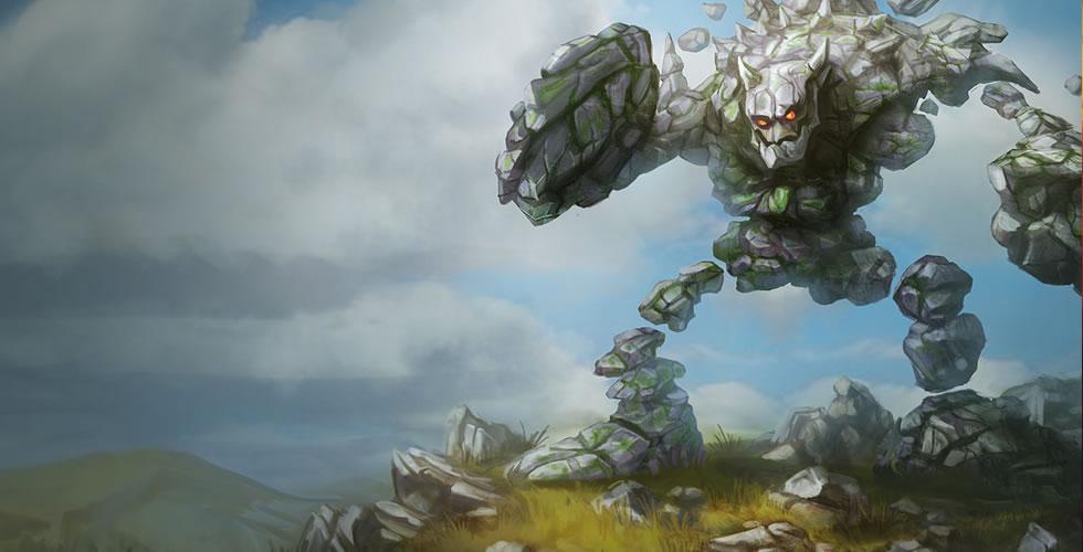 LOL 坚如磐石——熔岩巨兽墨菲特中单符文出装玩法解析