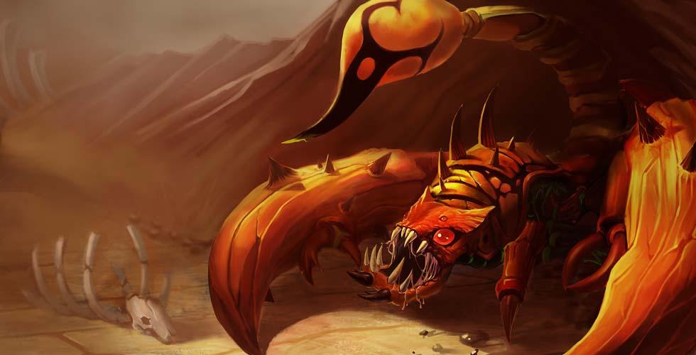 LOL季前赛冷门打野蝎子该怎么玩?S9水晶先锋斯卡纳天赋符文出装攻略