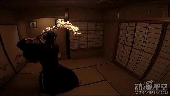 艺术家重现火之神神乐炎舞 燃烧的炭治郎日轮刀太帅