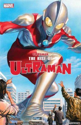 圆谷X漫威合作漫画《奥特曼崛起》:宣传片正式发布