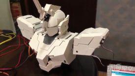 网友自制可变形独角兽高达胸像 3D打印部件很炫酷