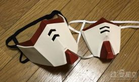 日本宅男制作高达口罩 有勇气戴出门效果超吸睛