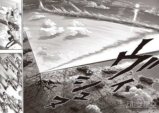 《一拳超人》175话图解:赛克斯发大招 效果超震撼