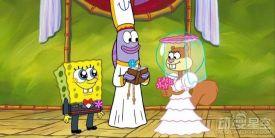 《海绵宝宝》将推出松鼠珊迪衍生电影 珊迪结婚了?
