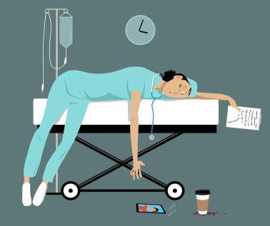 """都说护士是""""小天使"""",却不知她们常常累到折翼"""