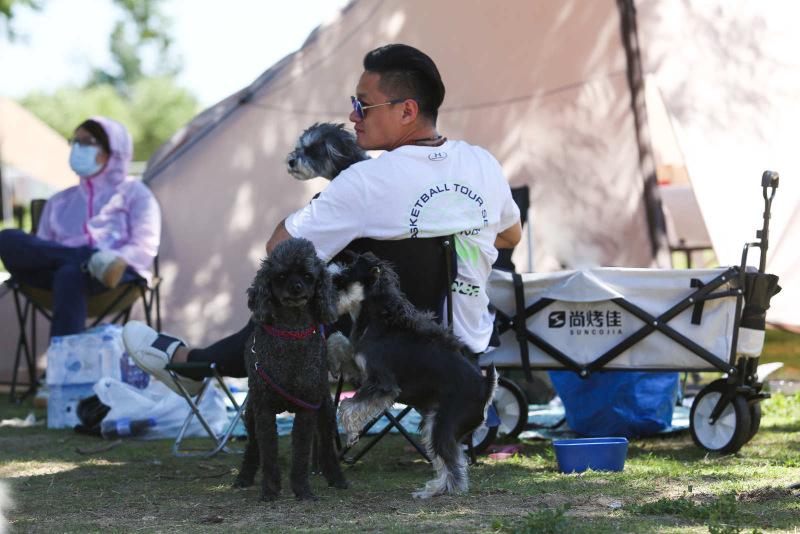2021狗巴迪勇士赛首站登陆北京 人犬合作征战障碍赛