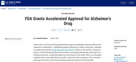 20年来首款治疗阿尔茨海默病的新药上市,为何却充满争议?