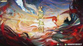 企鹅影视《笑傲江湖》公布 彩色水墨风动画