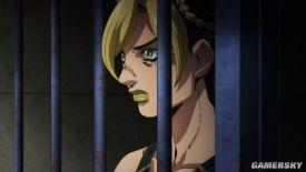 《JOJO的奇妙冒险:石之海》主视觉图和PV截图泄露 空条徐伦蒙冤入狱