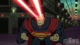 动画电影《不义联盟》新预告 狂暴超人大肆破坏
