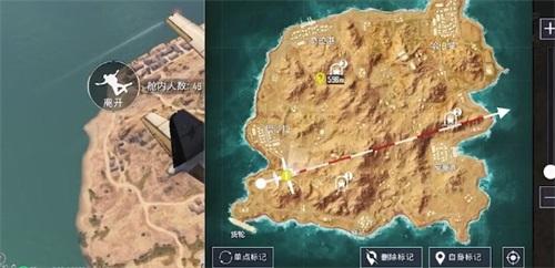 和平精英黄金岛矿机在哪里 黄金矿洞进入方法