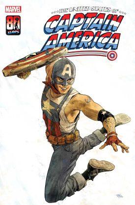 漫威将推出首位同性恋美国队长 角色造型图已曝光