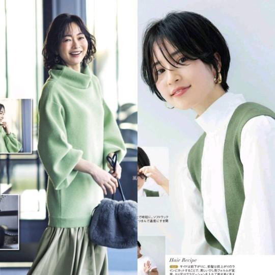 """女人过了40岁,选择日常搭配别忘了""""发型"""",能让穿搭更加分"""